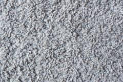 灰色地毯料纹理 免版税库存照片