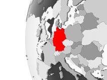 灰色地球的德国 向量例证