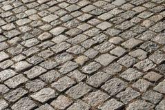灰色城市路面 免版税库存图片