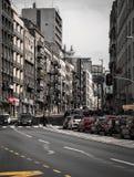 灰色城市 图库摄影