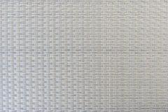 灰色塑料织法特写镜头  免版税库存图片