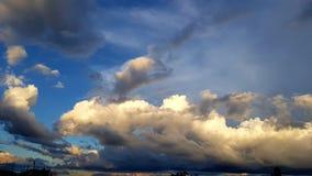 灰色天空 库存照片
