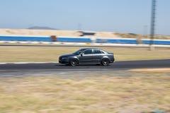 灰色奥迪RS4 图库摄影