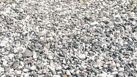 灰色小卵石特写镜头 影视素材