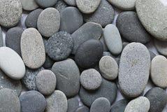 灰色小卵石 库存照片
