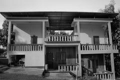 灰色房子 免版税库存照片