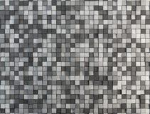 灰色抽象立方体 免版税库存照片