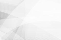灰色抽象背景几何亮光和层数元素传染媒介 皇族释放例证
