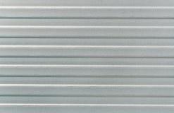 灰色排行金属表面 免版税库存照片