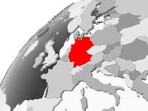 灰色政治地球的德国 皇族释放例证
