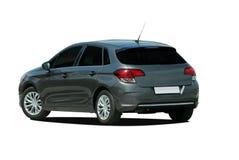 灰色斜背式的汽车 免版税图库摄影