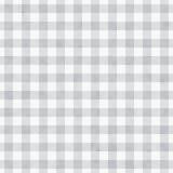灰色方格花布织品背景 免版税库存图片