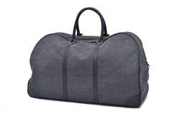 灰色旅行袋子 免版税库存照片