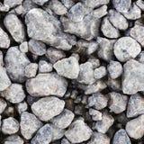 灰色无缝的石头纹理 库存照片