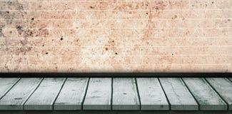 灰色木条地板的综合图象 皇族释放例证