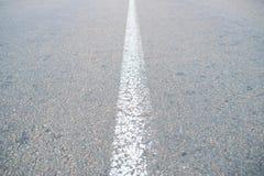 灰色柏油路的片段 免版税库存照片