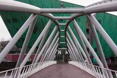 灰色桥梁 库存照片