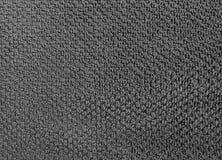 灰色棉花毛巾纹理背景细节  免版税库存图片