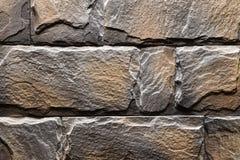 灰色橙色石墙纹理背景自然颜色 库存图片