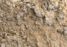 灰色沙子土墩堆海滩零件背景 免版税库存图片