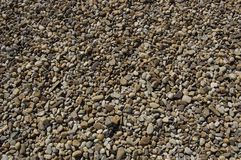 灰色河石头纹理 库存照片