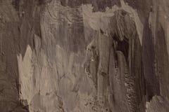 灰色油漆冲程拷贝空间 免版税库存图片