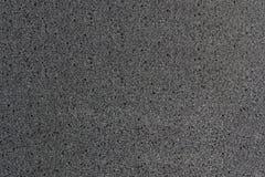 灰色海绵特写镜头 库存图片
