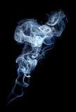 灰色烟 免版税图库摄影