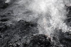 灰色烟 免版税库存图片