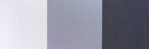 灰色的三片不同树荫 库存照片