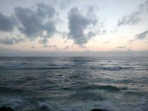 灰色的海 免版税图库摄影