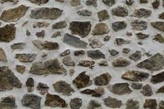 灰色石墙 免版税图库摄影
