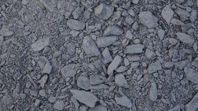 灰色石渣纹理 免版税库存图片