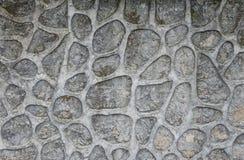 灰色石造壁 免版税图库摄影