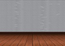 灰色砖墙传染媒介例证 免版税库存图片