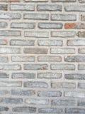 灰色砖墙纹理 免版税库存图片