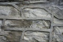 灰色砖背景 免版税库存图片