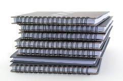 灰色笔记本 库存图片