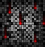 灰色红色块的色的图象 皇族释放例证