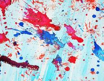 灰色红色紫罗兰色蓝色形式和光,抽象背景 图库摄影