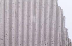 灰色纸板纹理 库存照片