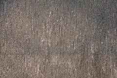 灰色织品编织的纹理 图库摄影