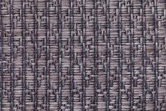 灰色编织了与软,羊毛状的布料的样式的羊毛背景 纺织品特写镜头纹理  免版税库存图片
