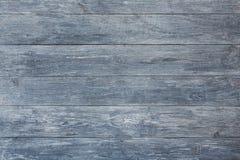 灰色蓝色木纹理和背景 库存照片