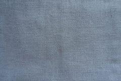 灰色蓝色简单的亚麻制织品 库存图片