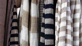 灰色被剥离的纺织品 库存图片