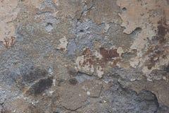 灰色被风化的墙壁 库存图片