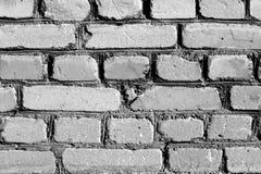 灰色被风化的砖墙纹理 库存照片