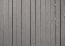 灰色被绘的木被佩带的背景 免版税库存图片