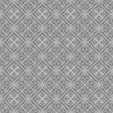 灰色装饰无缝的线样式 图库摄影